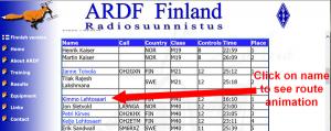 Finland route