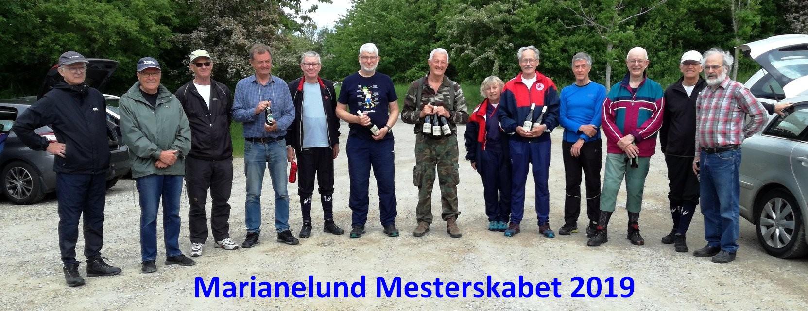 Marianelund-mesterskabet-2019 i Vestskoven